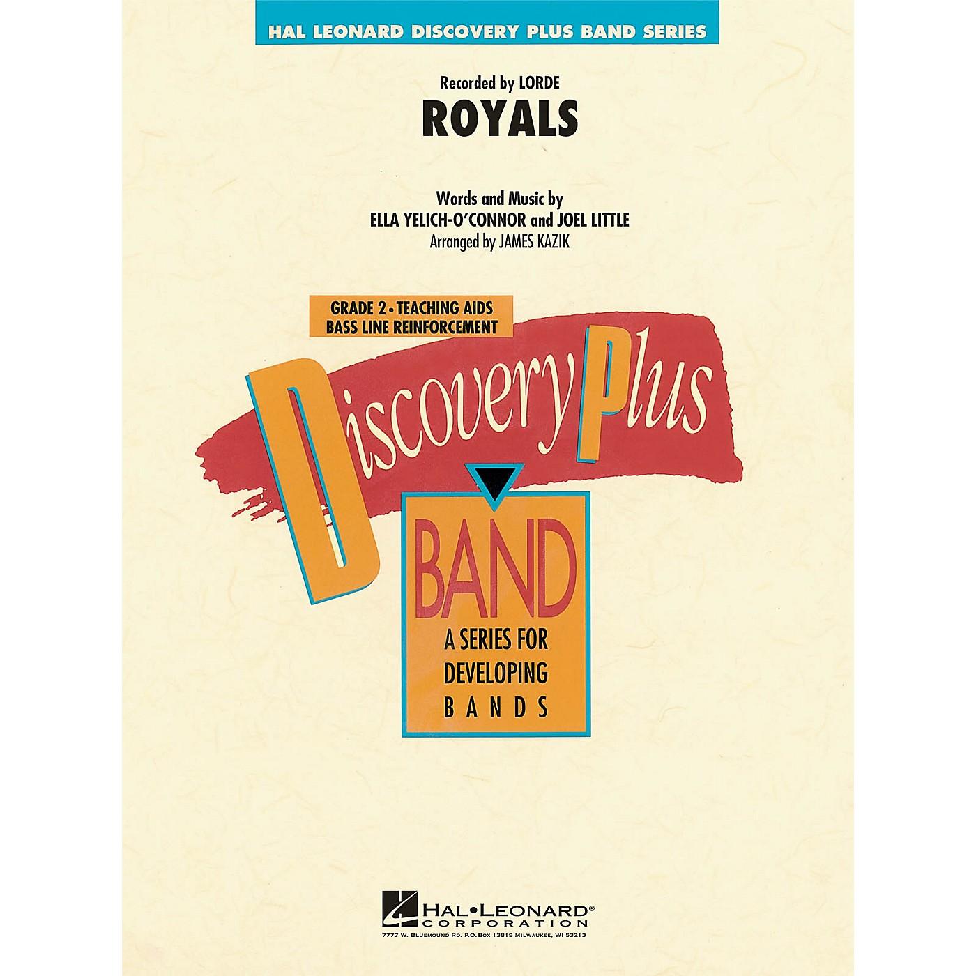 Hal Leonard Royals - Discovery Plus Concert Band Series Level 2 arranged by James Kazik thumbnail
