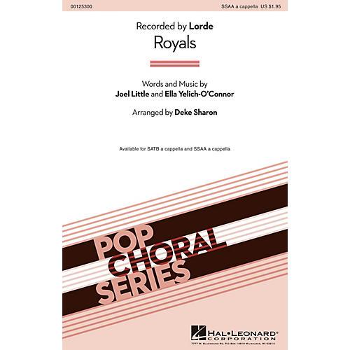 Hal Leonard Royals SSAA A Cappella thumbnail