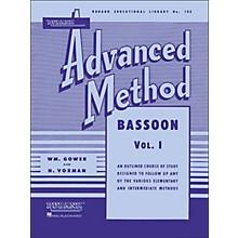 Hal Leonard Rubank Advanced Method for Bassoon Volume 1