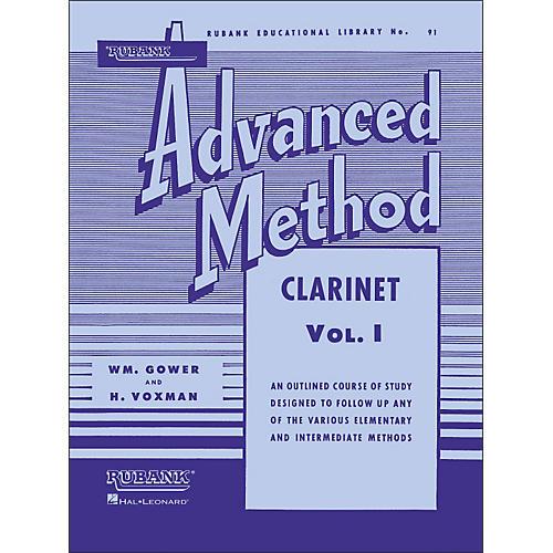 Hal Leonard Rubank Advanced Method for Clarinet Volume 1 thumbnail