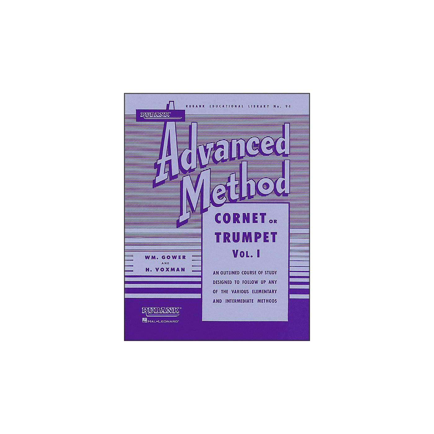 Hal Leonard Rubank Advanced Method for Cornet Or Trumpet Volume 1 thumbnail