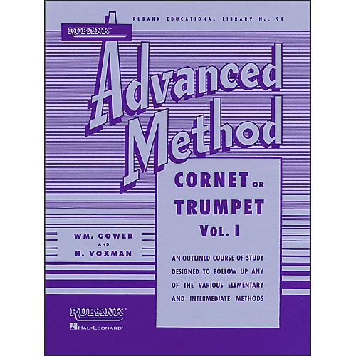 Hal Leonard Rubank Advanced Method for Cornet Or Trumpet Volume 1-thumbnail