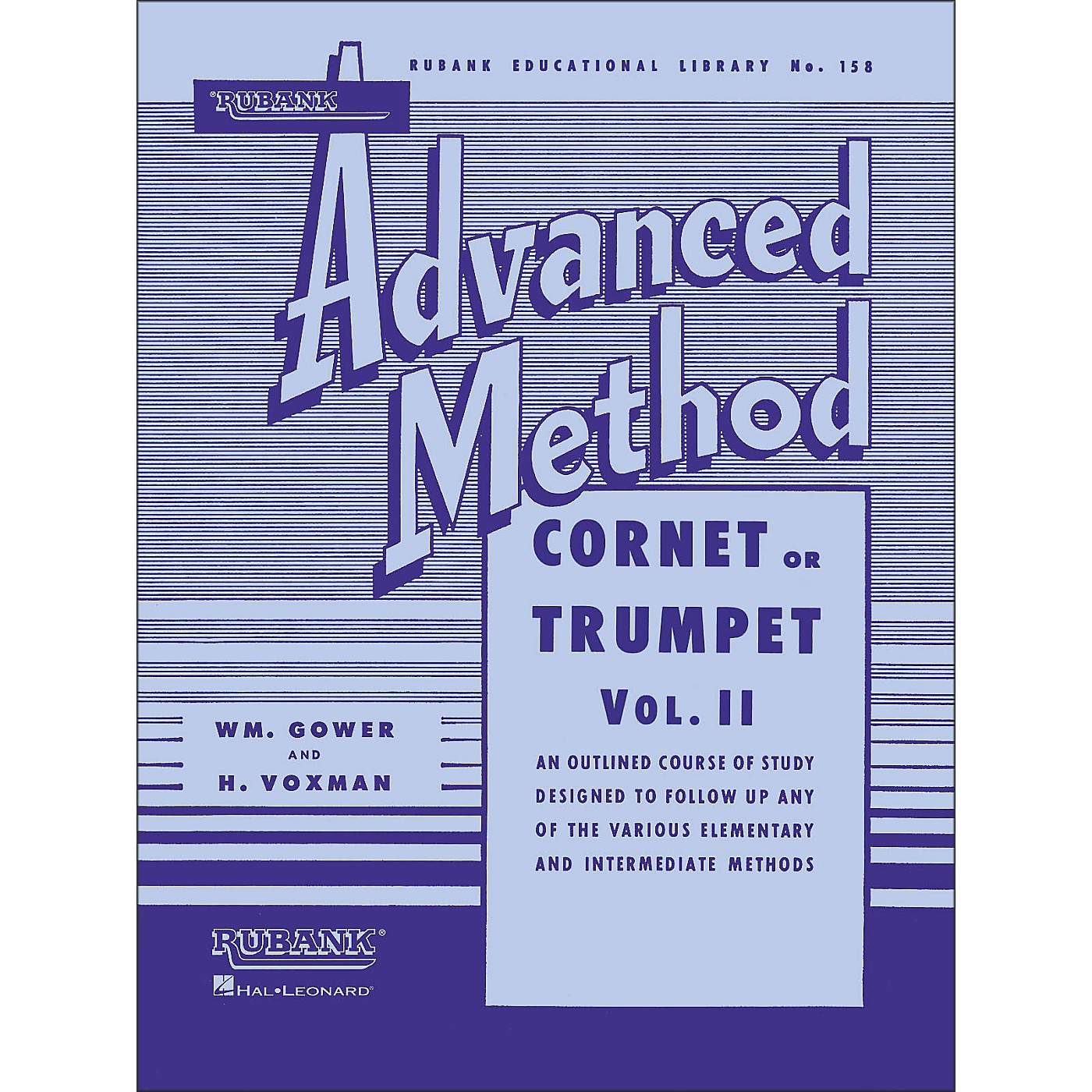 Hal Leonard Rubank Advanced Method for Coronet Or Trumpet Volume 2 thumbnail