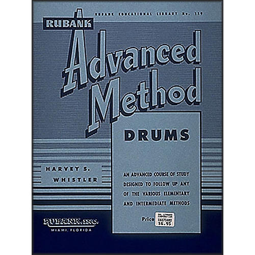 Hal Leonard Rubank Advanced Method for Drums thumbnail