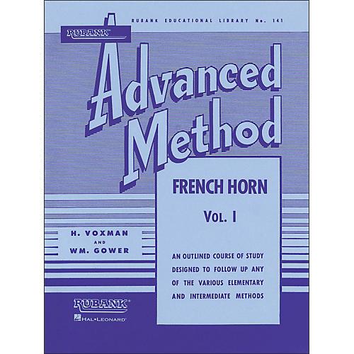 Hal Leonard Rubank Advanced Method for French Horn Volume 1 thumbnail