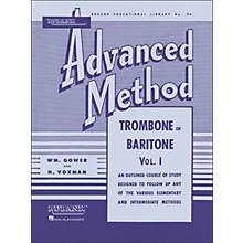 Hal Leonard Rubank Advanced Method for Trombone Or Baritone Volume 1