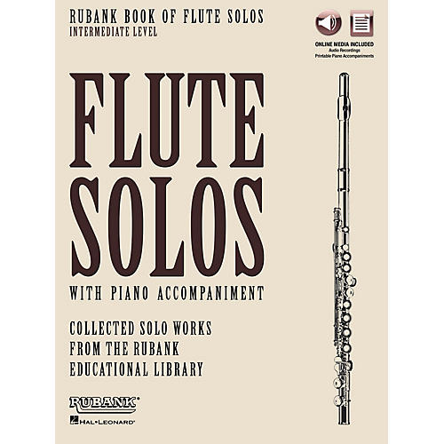 Rubank Publications Rubank Book of Flute Solos - Intermediate Level Rubank Solo Collection Series Softcover Media Online thumbnail