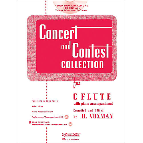 Hal Leonard Rubank Concert And Contest Collection - Flute (Book/CD) thumbnail