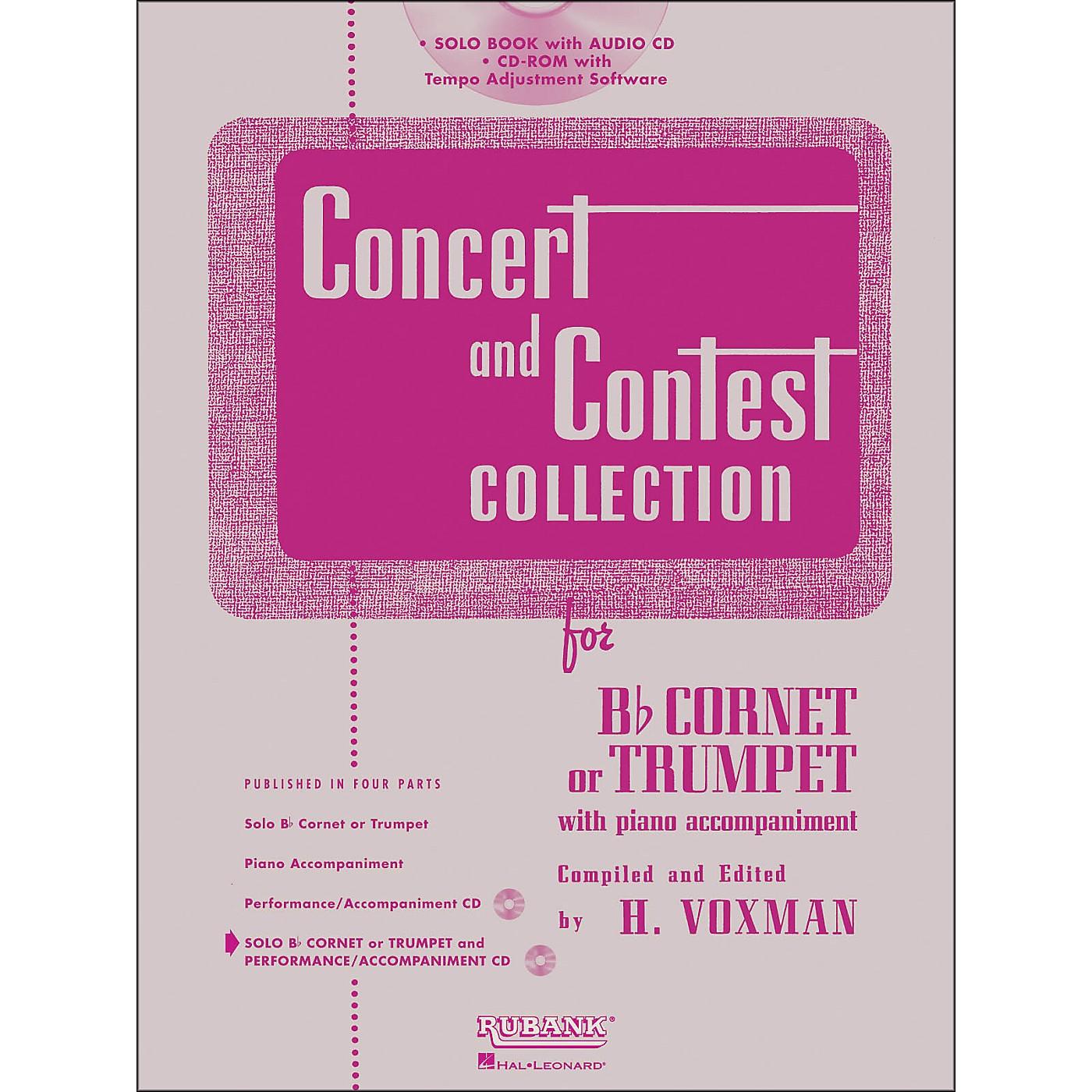 Hal Leonard Rubank Concert And Contest Collection Trumpet/Cornet Book/Online Audio thumbnail