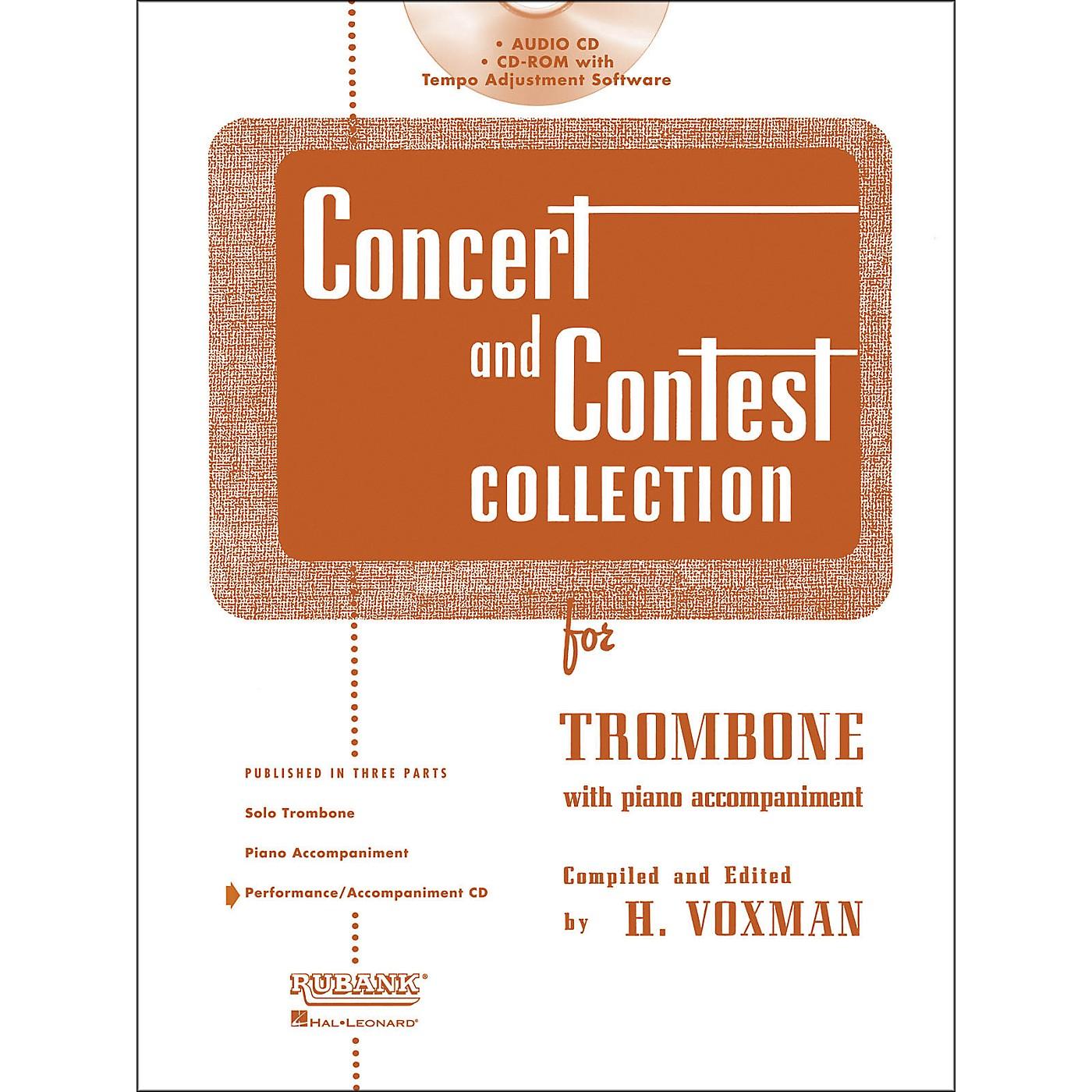 Hal Leonard Rubank Concert And Contest For Trombone - Accompaniment CD thumbnail
