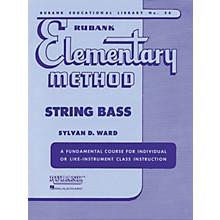 Hal Leonard Rubank Elementary Method - String Bass