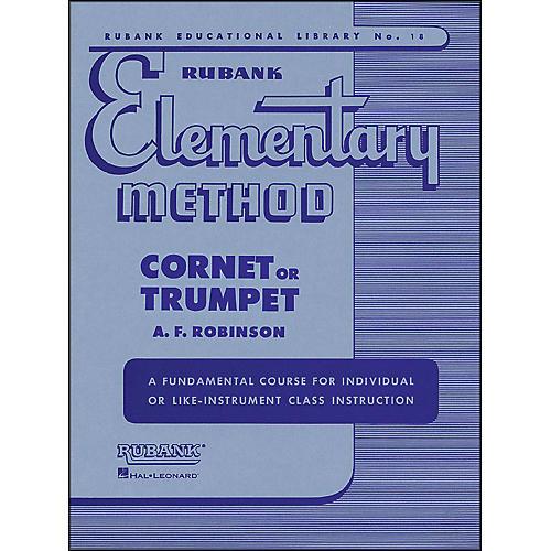 Hal Leonard Rubank Elementary Method Cornet Trumpet thumbnail