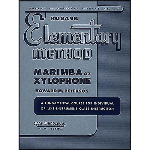 Hal Leonard Rubank Elementary Method Marimba Or Xylophone thumbnail