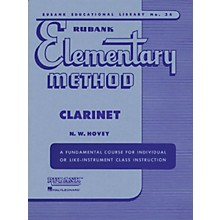 Hal Leonard Rubank Elementary Method for Clarinet