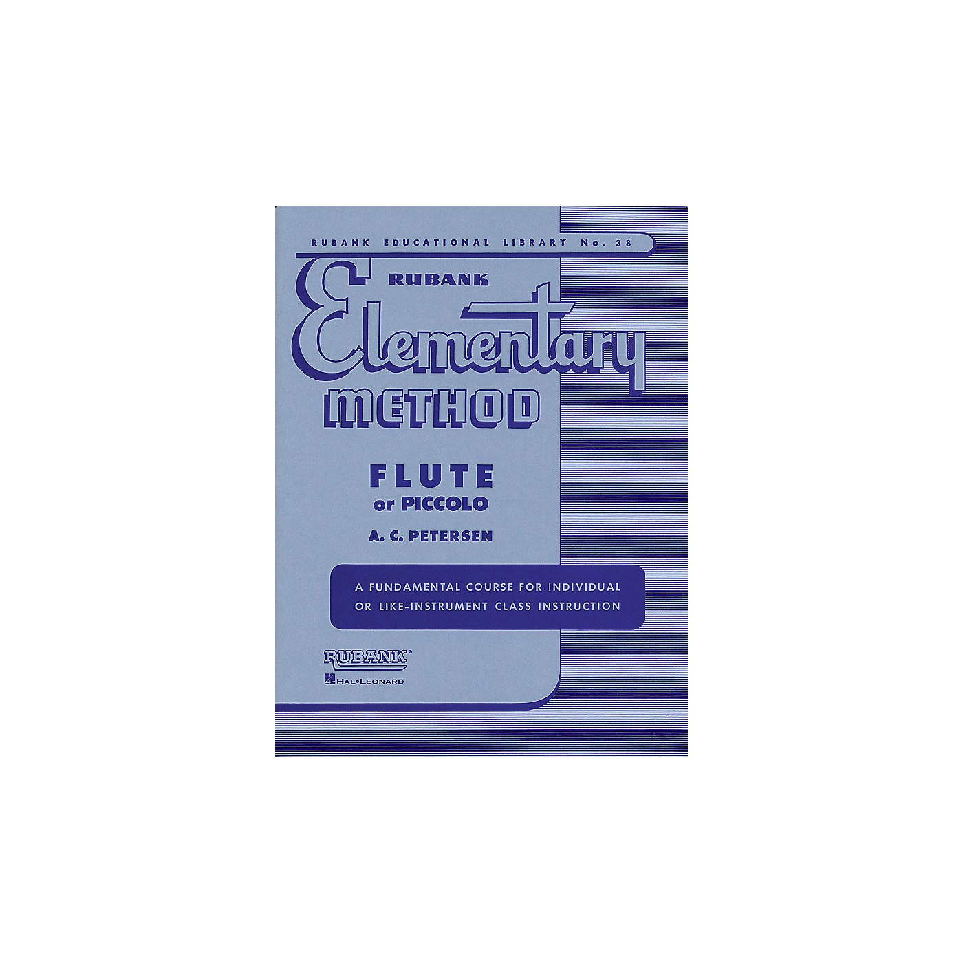 Hal Leonard Rubank Elementary Method for Flute or Piccolo thumbnail