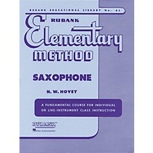 Hal Leonard Rubank Elementary Method for Saxophone