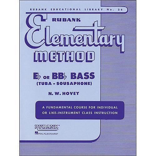 Hal Leonard Rubank Elementary Methods - Eb/BBb Bass thumbnail