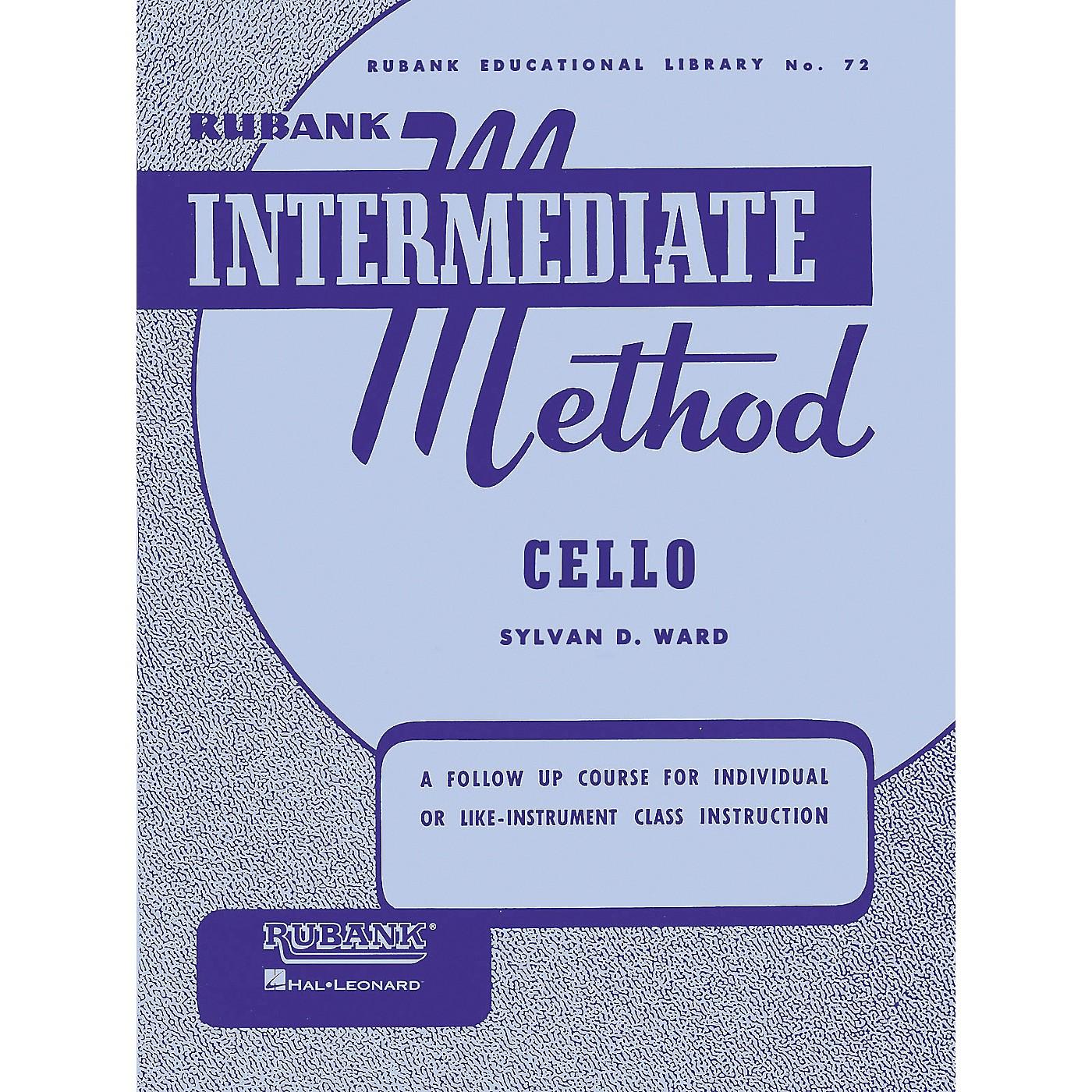 Hal Leonard Rubank Intermediate Method - Cello thumbnail