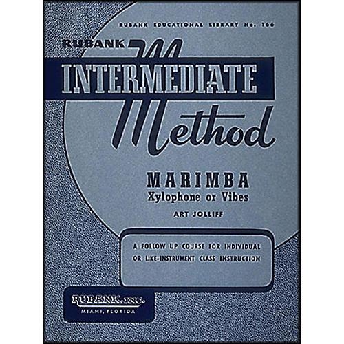 Hal Leonard Rubank Intermediate Method - Marimba/Xylo- Phone Or Vibes thumbnail