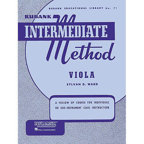 Hal Leonard Rubank Intermediate Method - Viola thumbnail