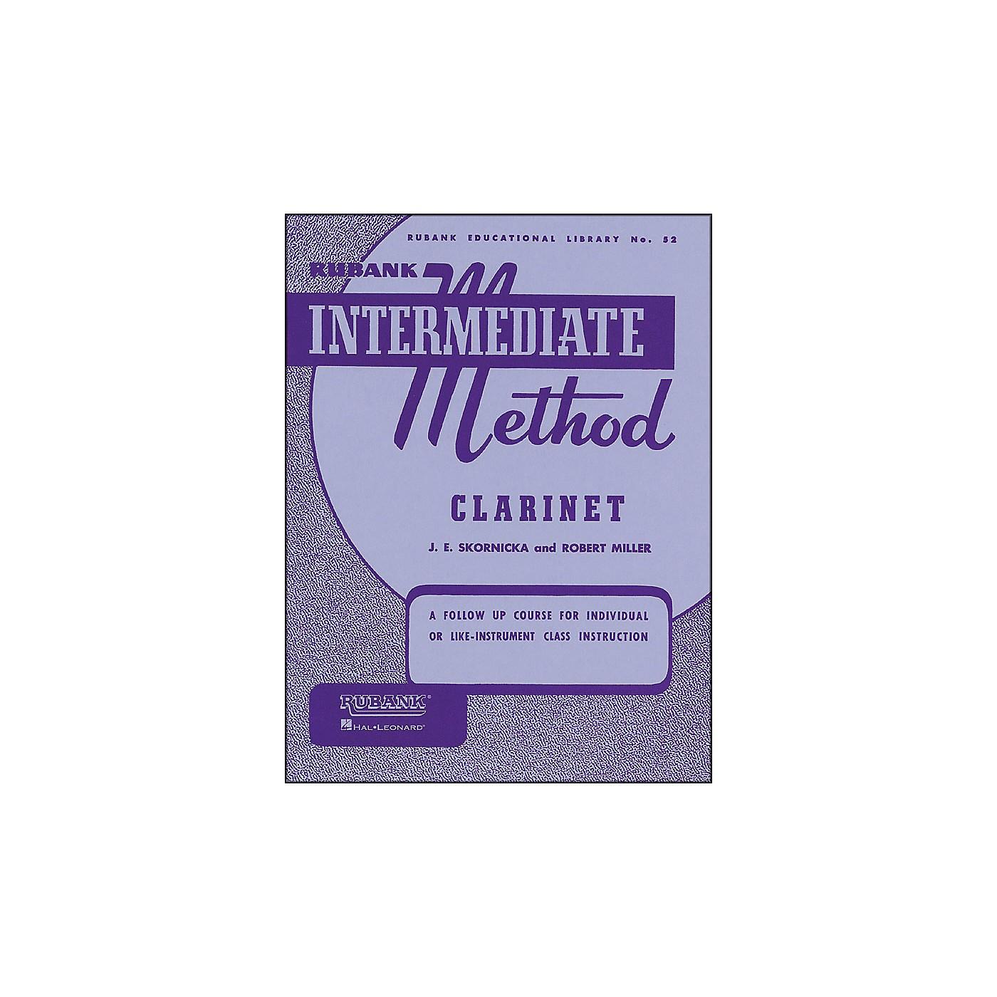 Hal Leonard Rubank Intermediate Method Clarinet thumbnail