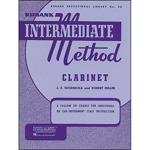 Hal Leonard Rubank Intermediate Method Clarinet-thumbnail