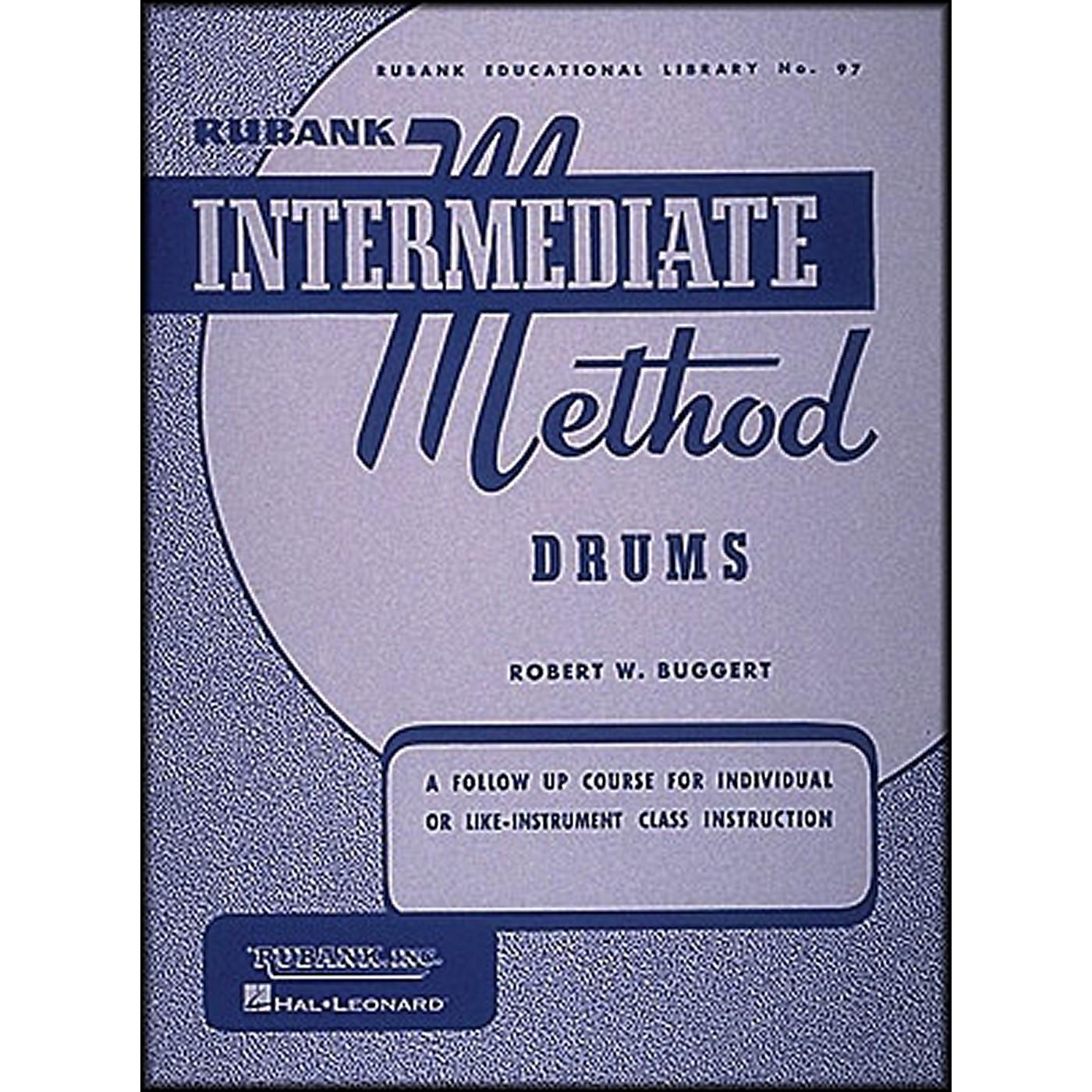 Hal Leonard Rubank Intermediate Method Drums thumbnail