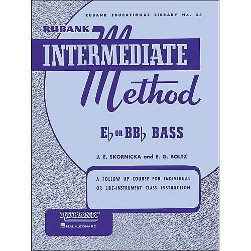 Hal Leonard Rubank Intermediate Method E Flat Or Bb Flat Bass thumbnail