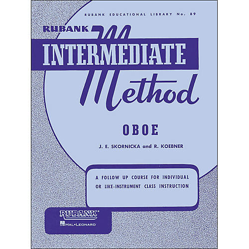 Hal Leonard Rubank Intermediate Method Oboe thumbnail