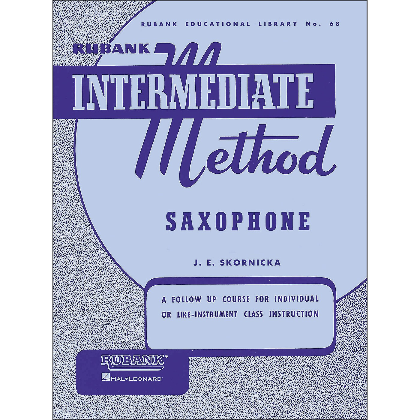 Hal Leonard Rubank Intermediate Method Saxophone thumbnail