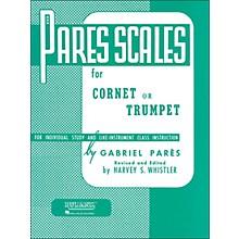 Hal Leonard Rubank Pares Scales - Coronet, Trumpet Or Baritone