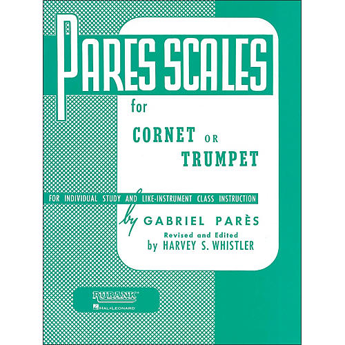 Hal Leonard Rubank Pares Scales - Coronet, Trumpet Or Baritone thumbnail