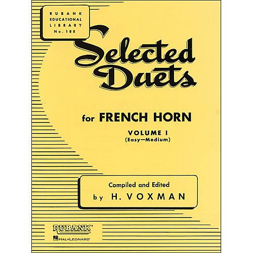 Hal Leonard Rubank Selected Duets French Horn Vol 1 Easy/Medium thumbnail