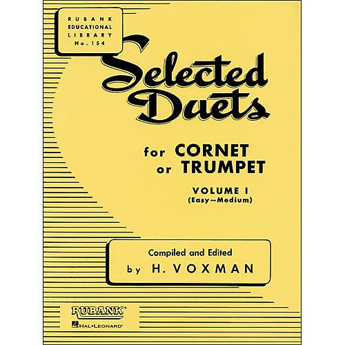 Hal Leonard Rubank Selected Duets for Cornet Or Trumpet Vol 1 Easy/Medium-thumbnail