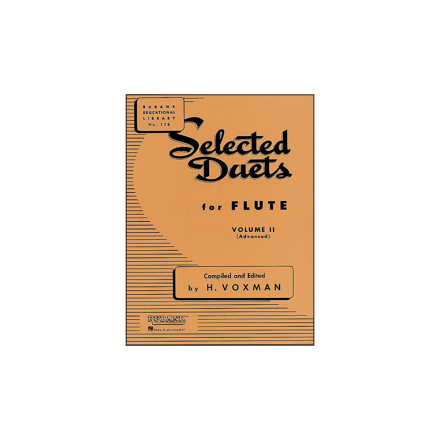 Hal Leonard Rubank Selected Duets for Flute Vol 2 Advanced thumbnail
