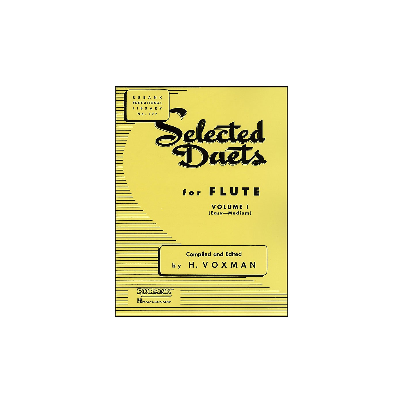 Hal Leonard Rubank Selected Duets for Flute, Vol. 1: Easy–Medium thumbnail