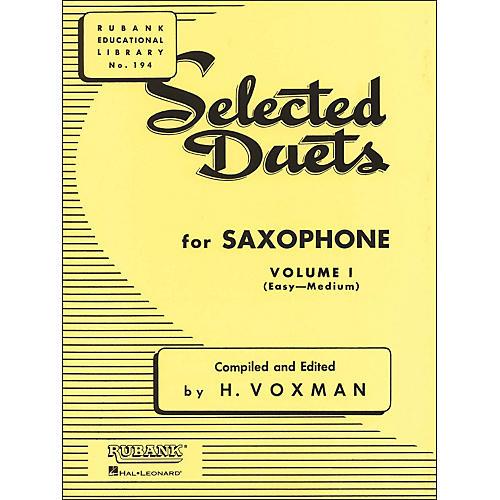 Hal Leonard Rubank Selected Duets for Saxophone Vol 1 Easy/Medium-thumbnail