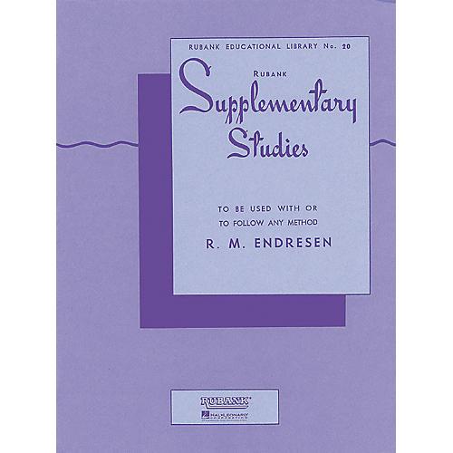 Hal Leonard Rubank Supplementary Studies for E Flat Or BB-Flat Bass-thumbnail