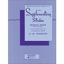Hal Leonard Rubank Supplementary Studies for French Horn, E Flat Alto Or Mellophone