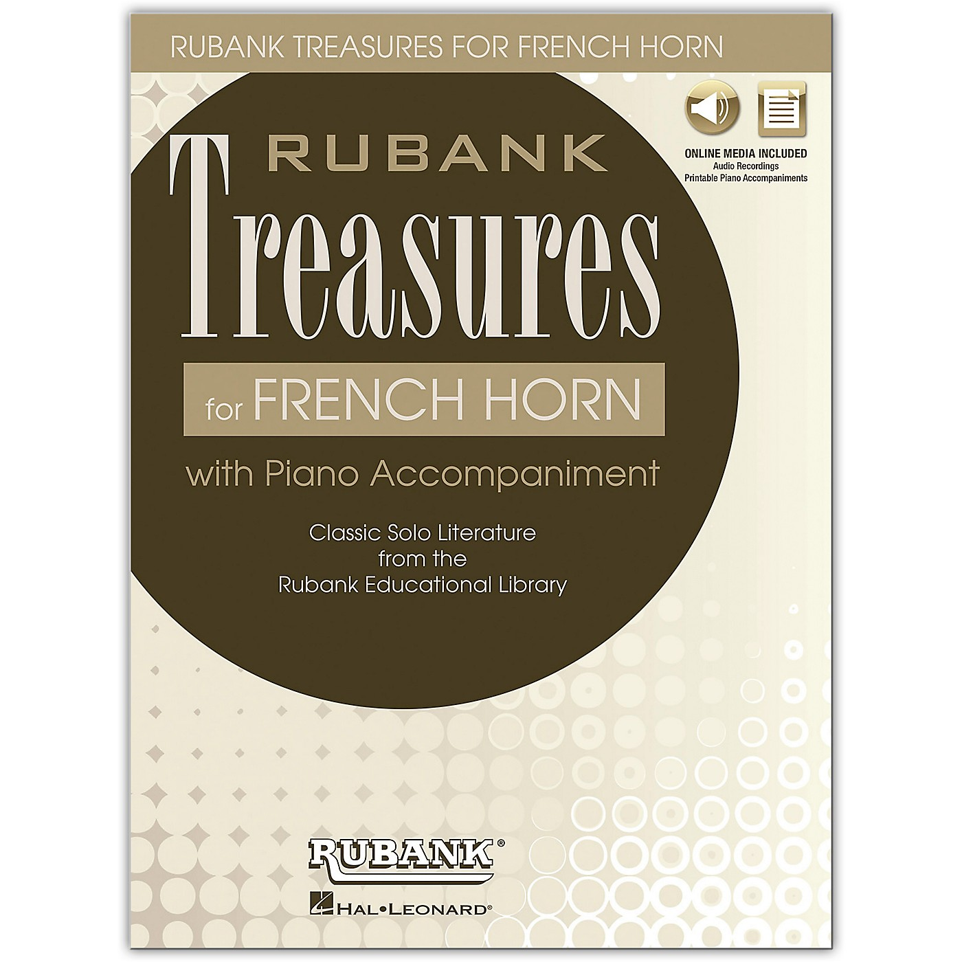 Rubank Publications Rubank Treasures for French Horn Book/Online Audio thumbnail