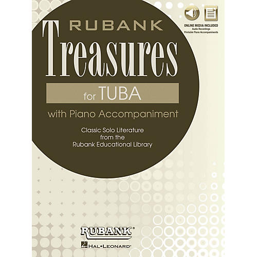 Rubank Publications Rubank Treasures for Tuba Rubank Book with CD Series Softcover Media Online thumbnail