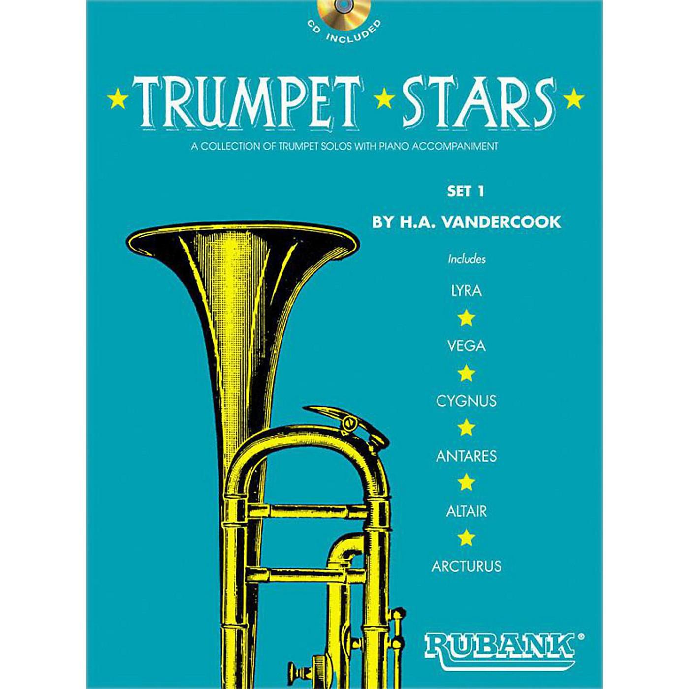 Hal Leonard Rubank Trumpet Stars Set 1 Book/CD thumbnail