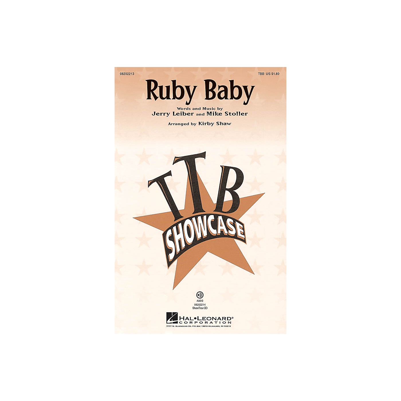 Hal Leonard Ruby Baby ShowTrax CD by Dion Arranged by Kirby Shaw thumbnail