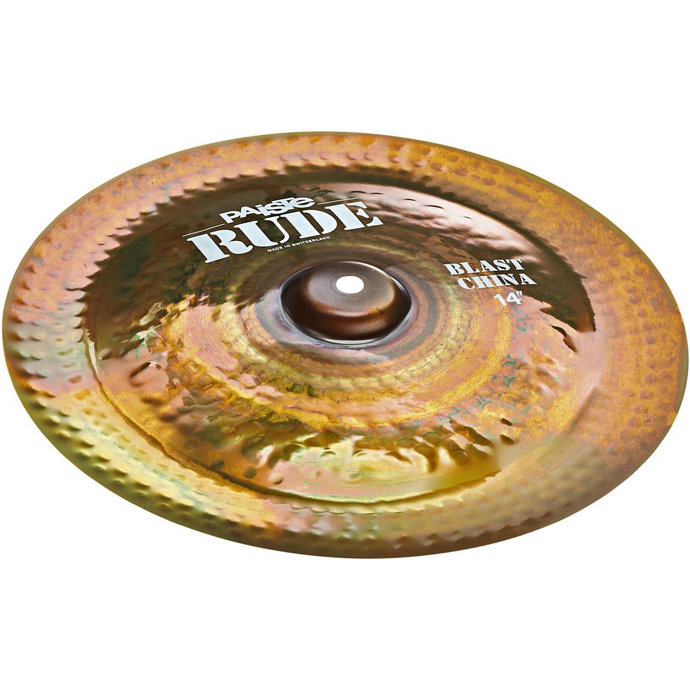 Paiste Rude Blast China Cymbal thumbnail