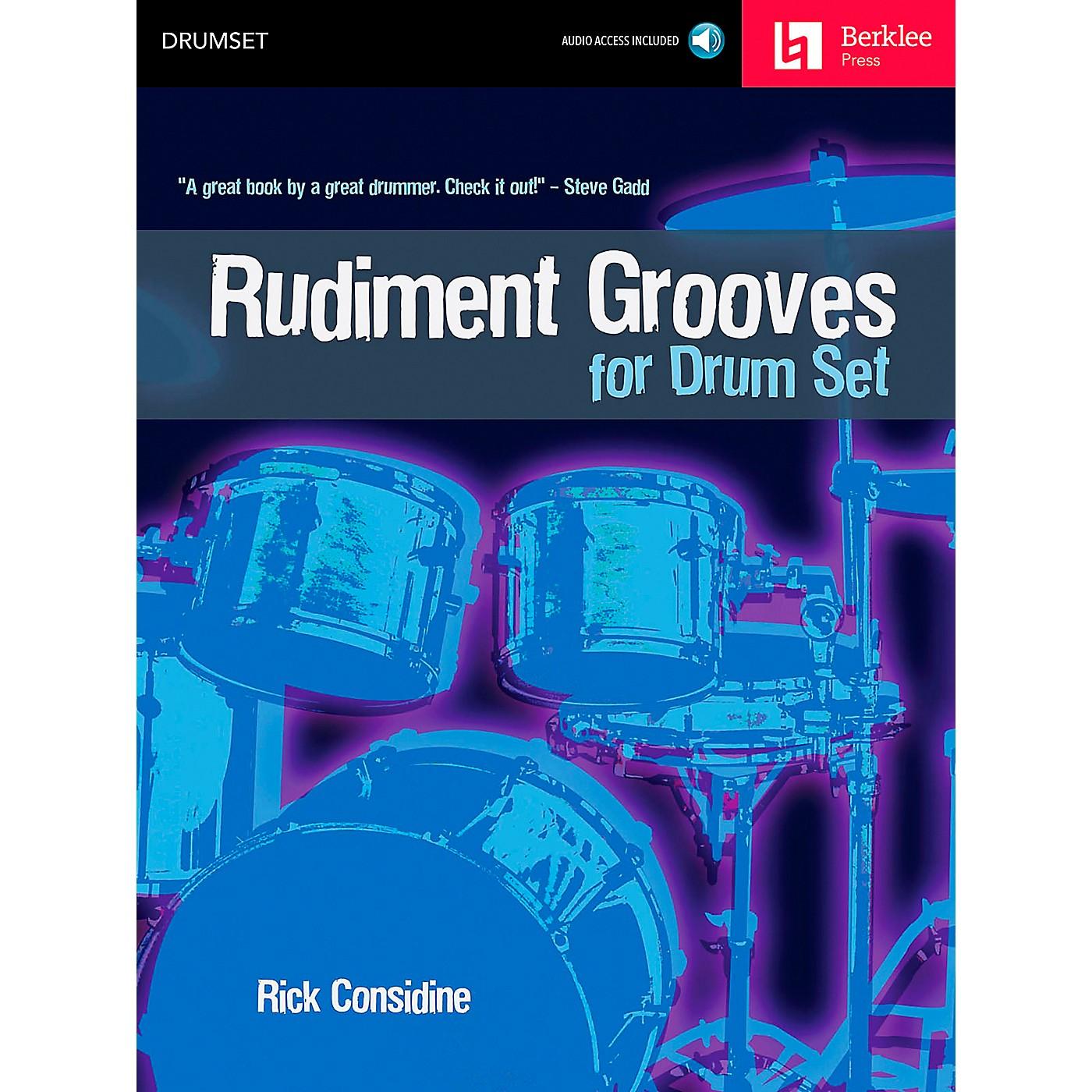 Berklee Press Rudiment Grooves for Drum Set (Book/CD) thumbnail