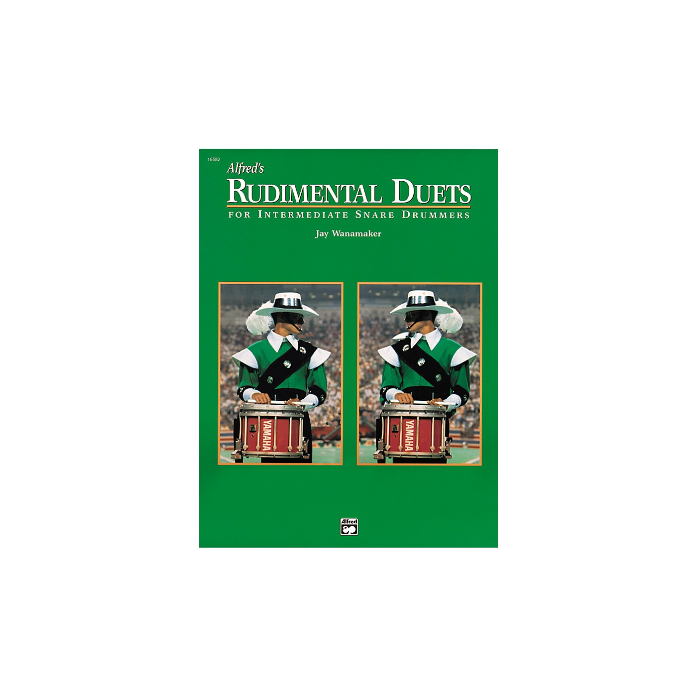 Alfred Rudimental Duets For Intermediate Snare Drummers Book thumbnail