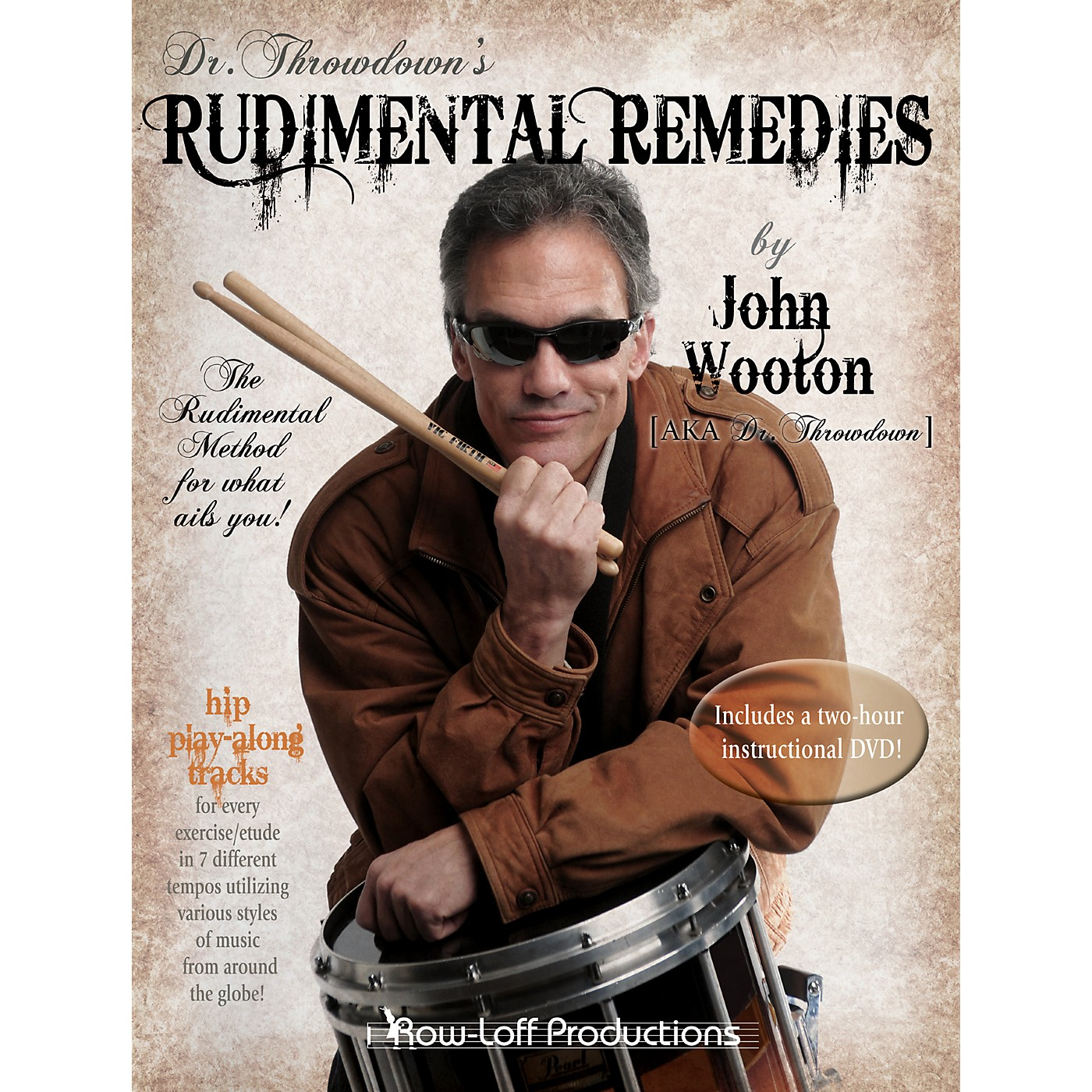 Row-Loff Rudimental Remedies Book thumbnail