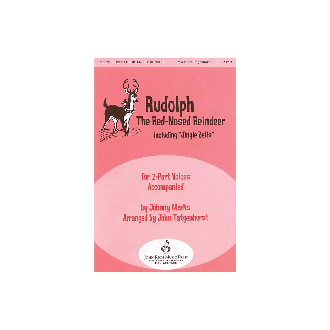 John Rich Music Press Rudolph the Red-Nosed Reindeer 2-Part arranged by John Tatgenhorst thumbnail
