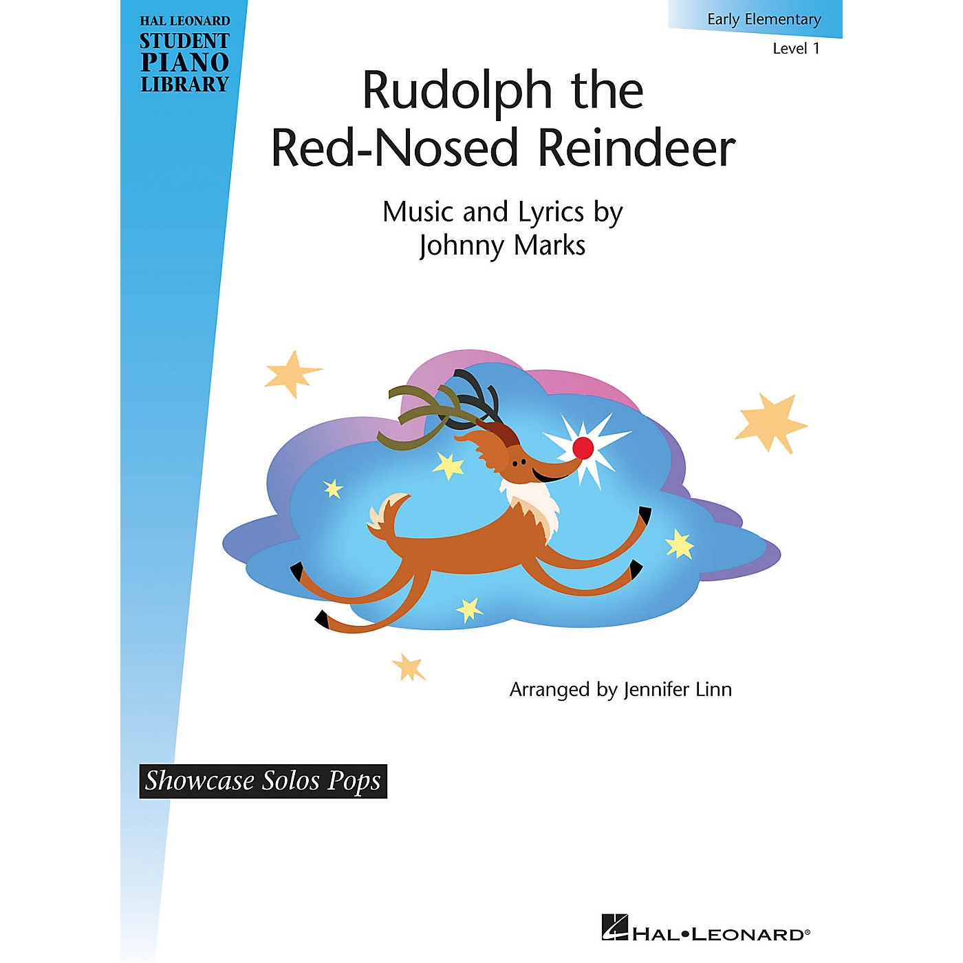 Hal Leonard Rudolph the Red-Nosed Reindeer Piano Library Series (Level Early Elem) thumbnail