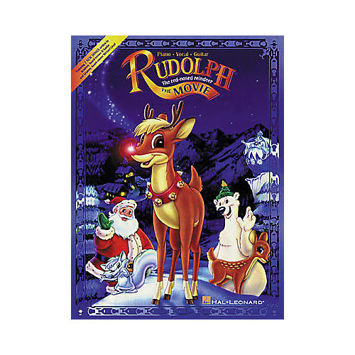 Hal Leonard Rudolph the Red-Nosed Reindeer The Movie Piano, Vocal, Guitar Songbook-thumbnail